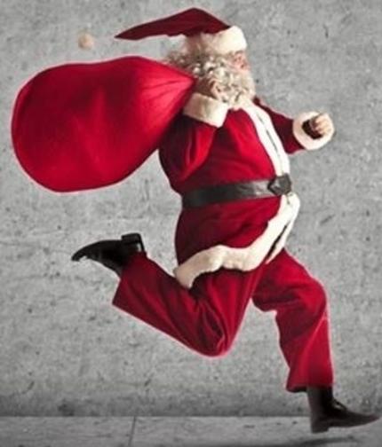 Babbi Natale.I Babbi Natale Per Le Vie Del Centro