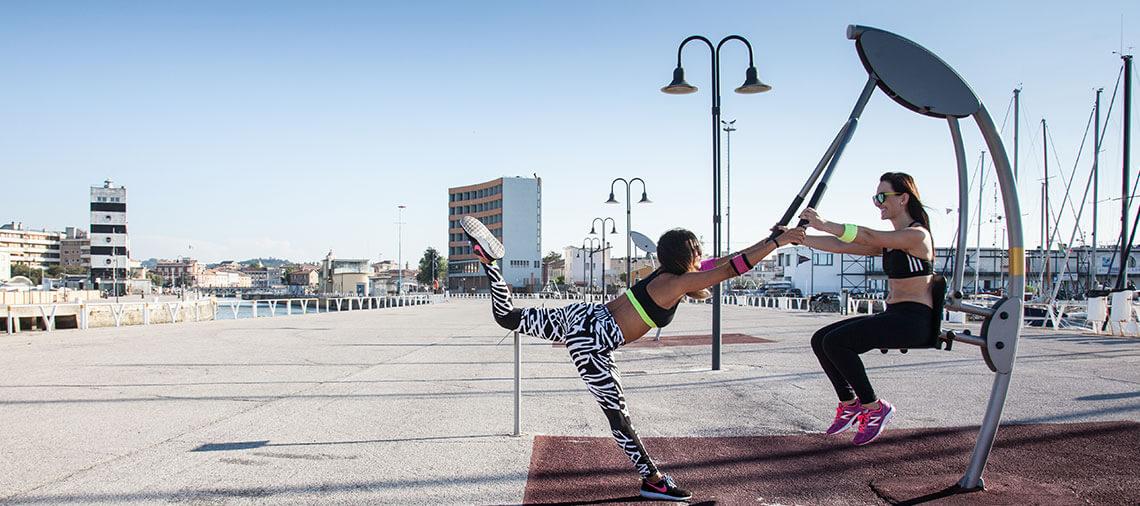 Gym On The Beach Il Percorso Fitness Sul Lungomare Di Senigallia